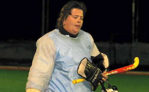 Warwick goalie Kerri Fitch is lining up for another grand final in hockey.