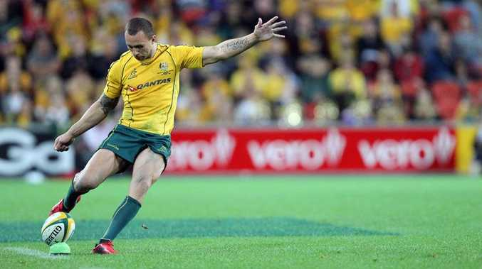Wallabies and Queensland Reds flyhalf Quade Cooper.