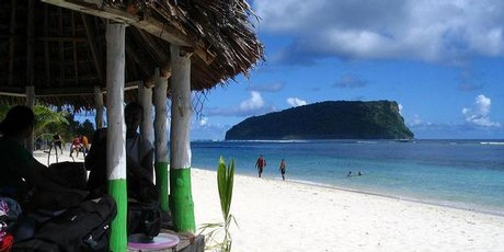 Simple fales on the beach offer a tropical holiday with a difference.