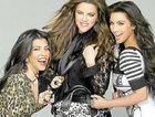 Kourtney, Kim and Khloe Kardashian.