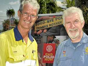 Ride helps Rotary beat polio