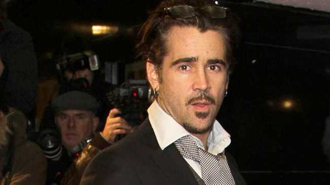 Colin Farrell has given up smoking.