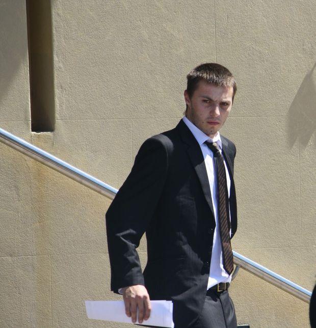 WEAPON: Daniel White-Mayne had a sawn-off shotgun hidden.