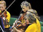 Calliope State School strings orchestra.