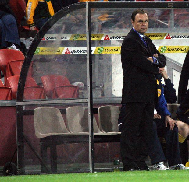 Socceroos coach Holger Osieck.