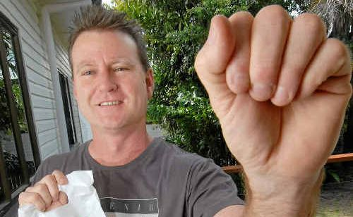 Stephen Lynch will be out in his area this week, collecting for the Heart Foundation Doorknock Appeal, which last year raised $30,083 in the Mackay region.