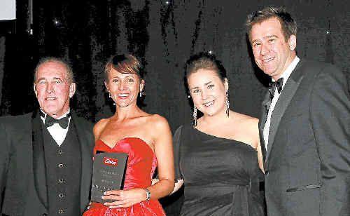 Alan Dawson, Kylie Pearson of Elders Grafton, Rebecca Mills, Brendan Whipps.