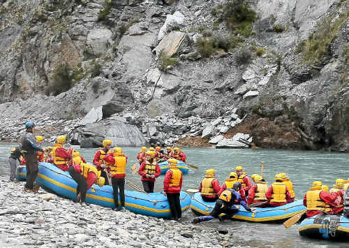 YOUR BEST SHOT: Skippers Canyon has a wide range of activities including rafting, jetboating and bungy jumping.