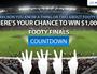 Footy Finals Major Prize Winners
