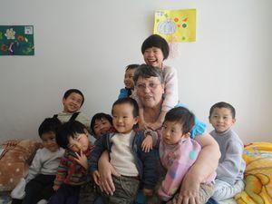 Linda is 'nai nai' to 60 kids