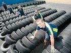 Michelin men prepare for rally