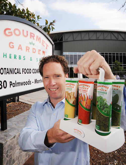 Gourmet Garden CEO Nick White.