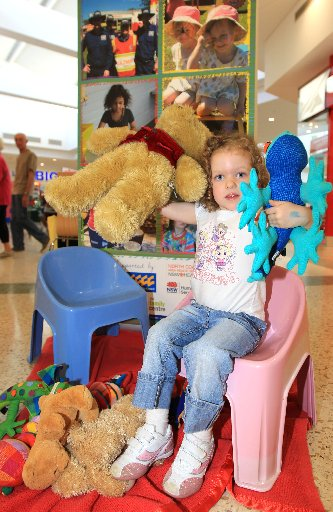 Willow McMillan will enjoy the free activities at Recreation Park on Thursday for the annual Teddy Bear's Picnic for Child Protection Week.