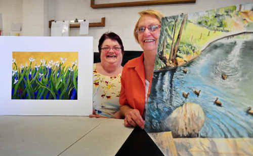 Grafton Artsfest secretary Gaye Thompson and president Fay Boyd have called it a day, bringing an end to a legendary event on the Grafton calendar.