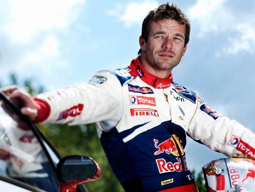 Seven-time World Rally Champion Sebastien Loeb.