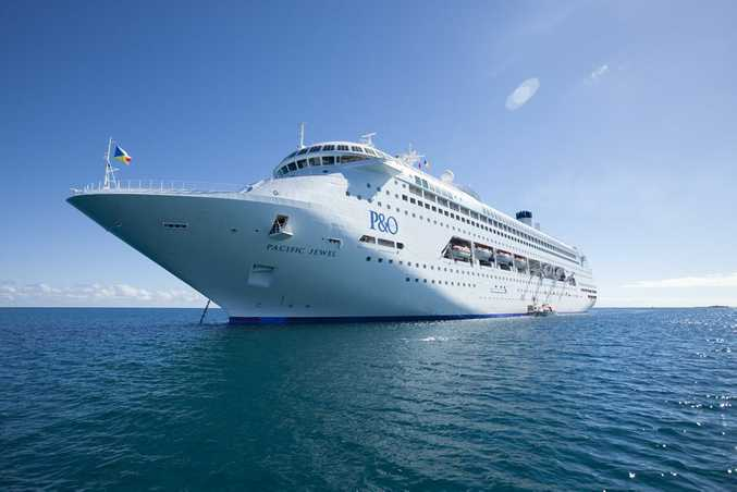 P&O; Cruises' Pacific Jewel.