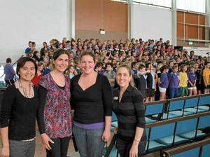 Students find harmony at workshop