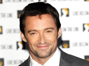 Jackman's wife surprises him with award