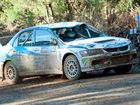 Despite running repairs after a roll-over, local hope Nathan Quinn is holding strong in the World Rally.