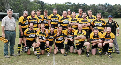 The Yamba Buccaneers side that will tackle the Kyogle Cockies at Lismore tomorrow.