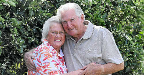 Joan and George Smith of Junction Hill will tomorrow celebrate their 65th wedding anniversary.
