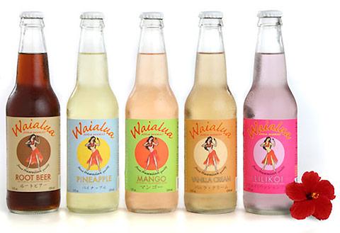 Waialua Soda Works: a gourmet soda company inspired by the Hawaiian Islands.