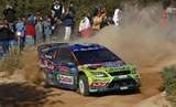 Ford driver Jari-Matti Latvala leads heading into Sunday's final day of Rally Australia.