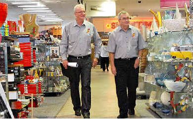 Paul Porter (left) and Gavan Porter, whose family-owned business Porters continues to evolve and thrive, advise City Heart businesses to take a proactive approach to Caneland Central's $230million expansion, which opens next month.