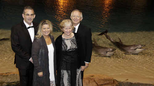 Greg and Cheryl Dulin with Norm and Rhonda Jeff.
