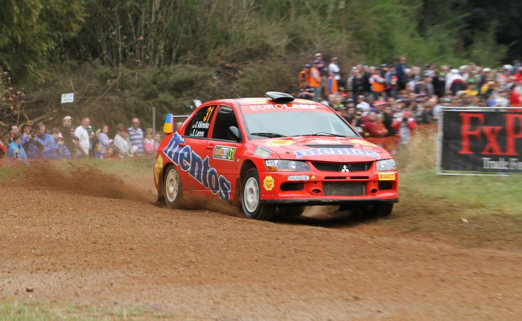 All the action from the third Special Stage of 2011 Rally Australia- SS3 Shipmans- held in the forests of Glenreagh on the morning of Friday September 9. Photo: JoJo Newby/The Daily Examiner