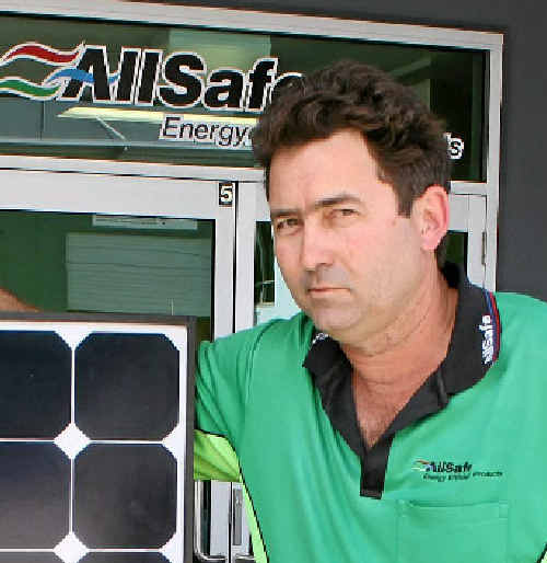 Businessman Dave Rickards has had to dismiss employees and start working nights so he could repay his suppliers.