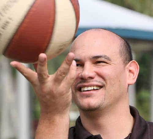 Joel Khalu is keen to expand the sport of basketball in Mackay.
