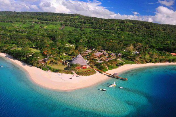 One of Vanuatu's premier resorts, The Havannah.