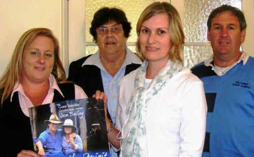 Local school chaplains Marie Brennan, Rosemary Easton, Donna Angell and Daniel Ratcliffe.