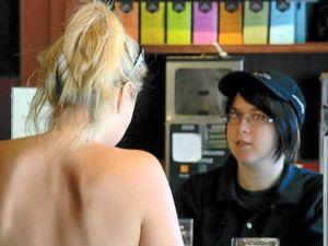 Topless bar causes quite a stir