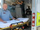 """Mackay Ambulance Station officer in charge Jeremy Wickham """"absolutely loves"""" being an advanced care paramedic. He began training as an ambulance officer when he was 19."""