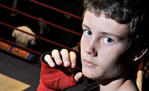 Caloundra boxer Darcy Limbach will fight on Sunday for the Queensland junior amateur bantamweight title.