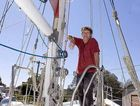 Iain Mc Cabe from Ballina is getting ready his yacht charter business ready for the new tourist season.