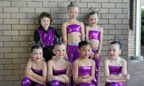 BREAK A LEG: Gatton group Dance Force get ready to hit the stage and give it their all.