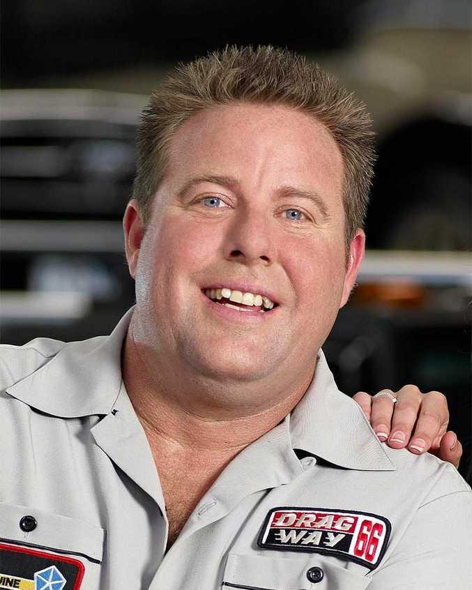 Top Gear Australia host Shane Jacobson.