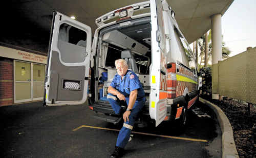 Ambulance officer of 25 years Peter Bodenham says an increase in drug use is responsible for an increase in violence against paramedics.