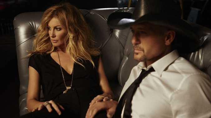 Country music couple Faith Hill and Tim McGraw. Photo by Danny Clinch.