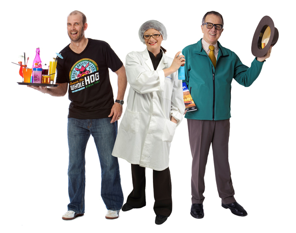 Participants in the new series of Undercover Boss Australia.