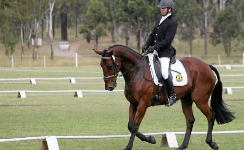Warwick Horse Trials Club member Kevin McNab, on Kelecyn Cognac, will contest two-star for the Clark Tanks Equestrian Triequathon.