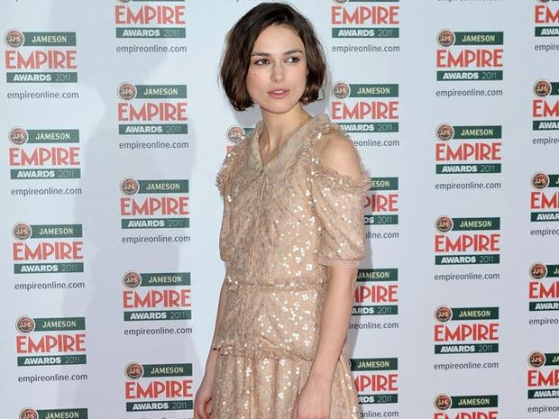 Keira Knightley was worried about her racy spanking scene from the upcoming movie 'A Dangerous Method'.