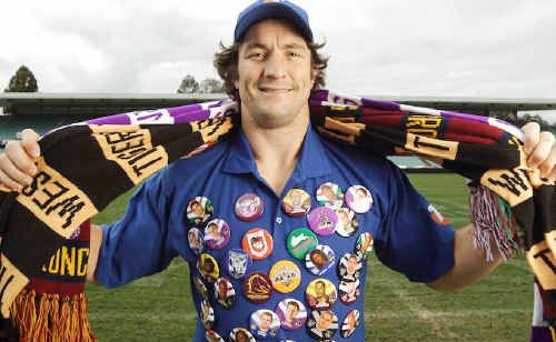 The Parramatta Eels' Nathan Hindmarsh is sending out the call to fans to pledge their support.