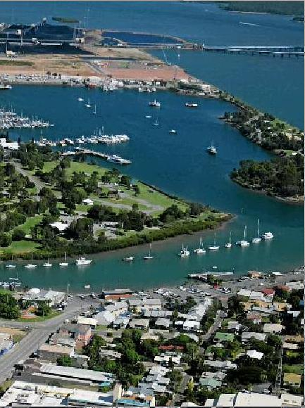 Gladstone's stunning harbour is closed to all fishing.