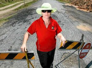 Resident pleads for road closure