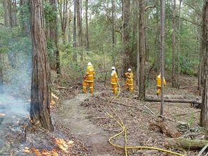 Firefighters plan burnoffs