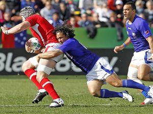 Samoa versus Wales - RWC 2011
